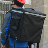 "PK-66V: Pizza and Pan Delivery Backpack, Keep Hot, Top Loading, Velcro Closure, 16"" L x 12"" W x 18"" H"