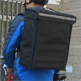"PK-34V: Small Food Delivery Backpack for Hot and Cold, Top Loading, Velcro Closure, 13"" L x 9"" W x 18"" H"