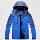 PK-COAT-B1:Food Delivery Clothes for Driver, Rain Resistant Overcoat, Sky Blue Color with Every Size