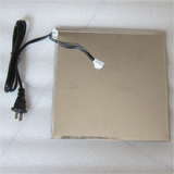 "PK-220V: Food Heating Panel, Heating Pad for Food, w/temperature Controller, 220V/100W, Size: 9"" x9"""