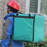 "PK-76G: Pizza Delivery Bags, Heat Insulated Driver Backpack, Thermal Food Boxes, 16"" L x 15"" W x 18"" H"