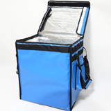 "PK-66VB: Thermal Heated Food backpacks, Food Take out Bag, Velcro Closure, 16"" L x 12"" W x 18"" H"