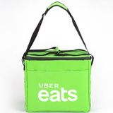 PK-32G: Uber EATS Food Delivery Bag, Convertible Handbag, Medium Sling Bags, 14