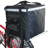 "PK-140Z: Huge Heat Insulation Food Delivery Backpack, 2 Layers, Rigid Frame, 20"" L x 20"" W x 20"" H"