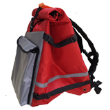 PK-60D: Roll Top Rucksack for Food Delivery, Extendable Pizza Delivery Backpacks, Flexible Roll Top Bags for Cyclist