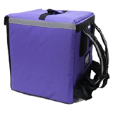 "PK-75P: Food Delivery Bag for Glovo, Pizza Takeway, Keep Hot, Side Loading, 16"" L x 15"" W x 18"" H"