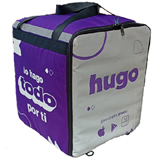 "PK-75H: Thermal Delivery bag for Hugo, Food Takeout Backpacks, Pizza Bags, Keep Hot, 16"" L x 15"" W x 18"" H"