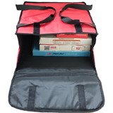 PK-39P: 16 - 18 Inch Pizza Delivery Tote Bag, Thermal Delivery Bags, Hot Pizza Bag