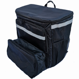 PK-70U: Extendable Pizza Delivery Rucksacks, Flexible Food Delivery Bag, Big Capacity Carrier with Light Weight