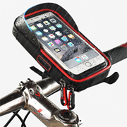 PK-BMH: Bike Top Tube Bag, Cycling Front Frame Bag, Bicycle Handlebar Bag, Mobile Phone Holder