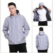 PK-JACKET-F: Food Delivery Windbreak, Thin Driver Delivery Coats, Rider Wind Coat, Dust Clothes
